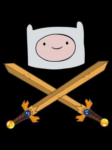Crossed swords - Adventure Time