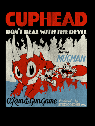 Cuphead Also Starring Mugman