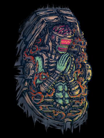 Cyborg Pray