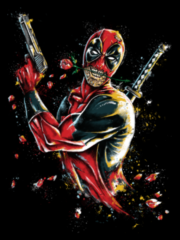 DEADPOOL - Artistic paint