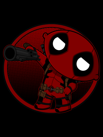 DEADPOOL - HOLD IT LIKE A G