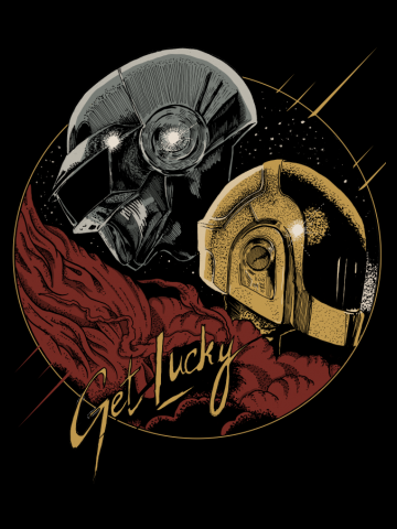 Daft Punk - Get Lucky - Alternate Version