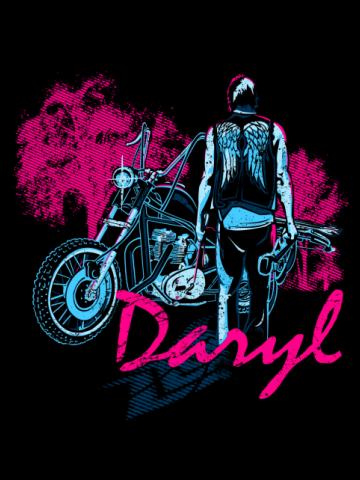 Daryl Motobike - The walking Dead