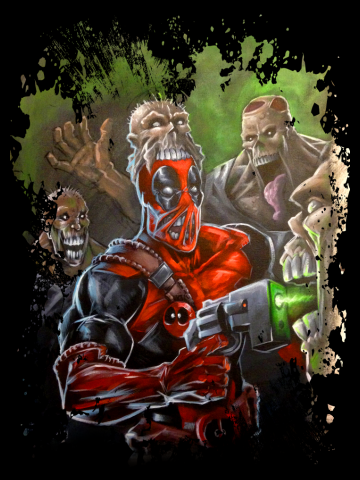 Deadpool - Artistic comic