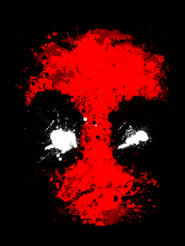 Deadpool - Artistic splash