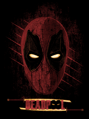 Deadpool - Distress face