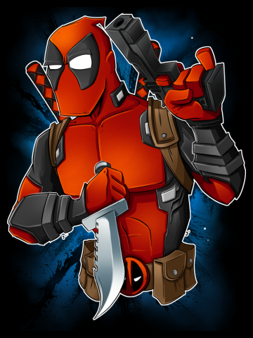 Deadpool - Guns out