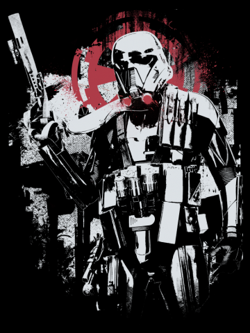 Death Trooper Graffiti