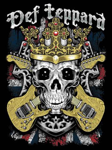 Def Leppard - Skuls & Guitars