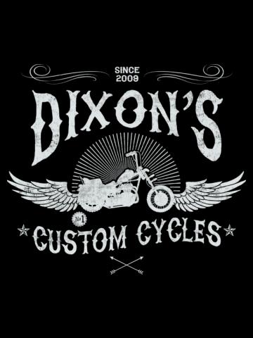 Dixon's custom bikes - The walking dead