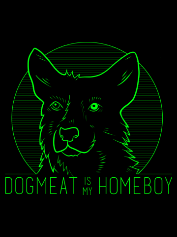 Dogmeat is my Homeboy - Fallout