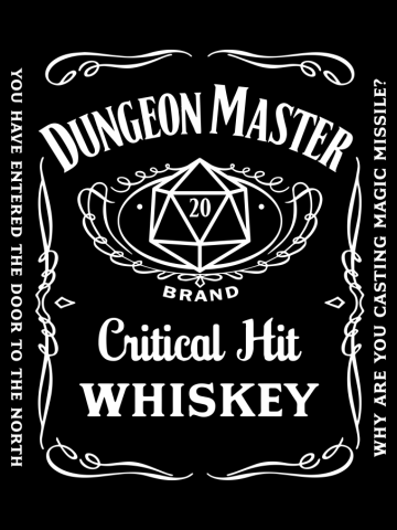 Dungeon Master Whiskey Jack
