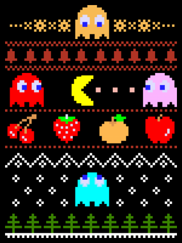 Eat your christmas dots