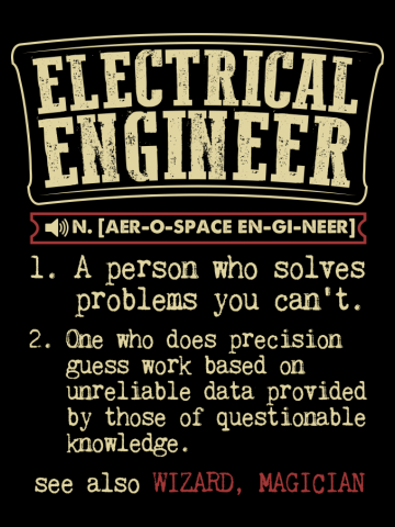 Electrical Engineer Funny Dictionary Term