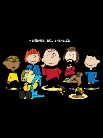 Engage. Er... Energize. (for dark shirts)