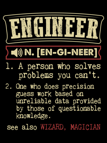 Engineer Funny Dictionary Term