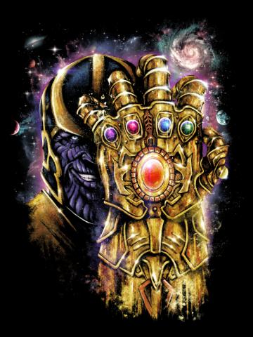 Epic Thanos Infinity Gauntlet Portrait