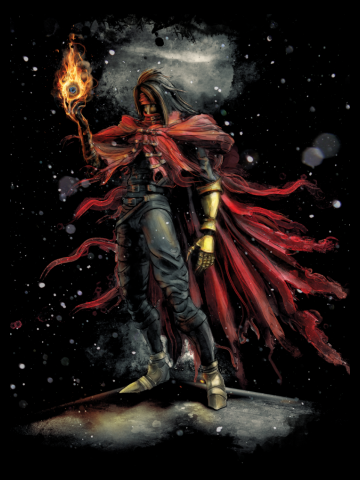 Epic Vincent Valentine from Final Fantasy