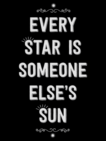 Every Star is Someone Else's Sun
