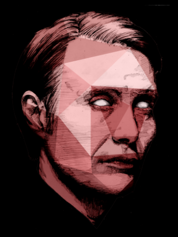 Evil portrait - Hannibal