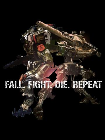 Fall. Fight. Die. Repeat. (Titanfall 2/Edge of Tomorrow mashup)