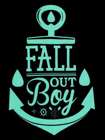 Fall out Boy - Anchor Logo