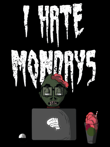 Filtru Hate Mondays White