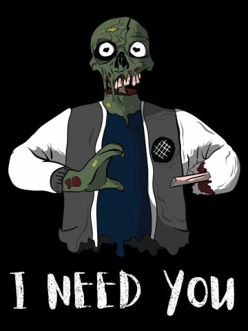 Filtru Zombie couple 1