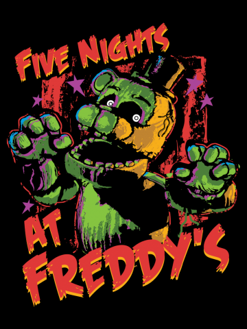Five Nights At Freddy's Phantom Freddy