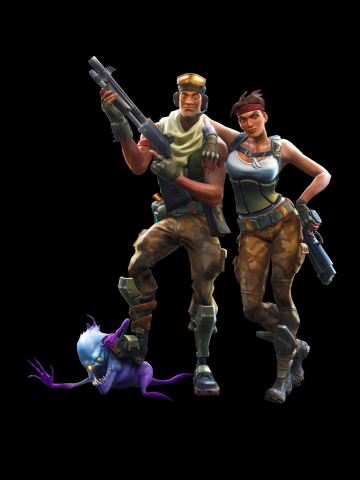 Fortnite Shotgun team