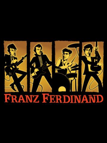 Franz Ferdinand -Artistic Poster