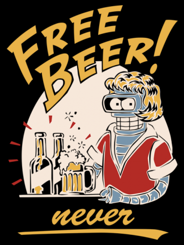 Free Beer...NEVER!