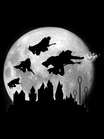 Full Moon over Hogwarts