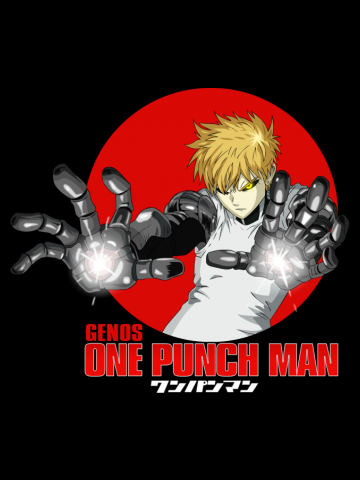 GENOS ONE PUNCH MAN ANIME
