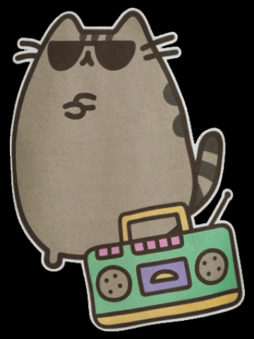 Gangsta Pusheen