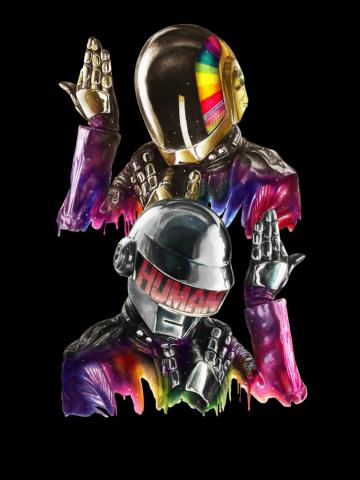 Get Lucky - Space Daft Punk