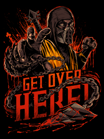 Get over here! Mortal Kombat