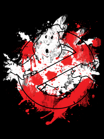Ghostbusters Paint Splatter