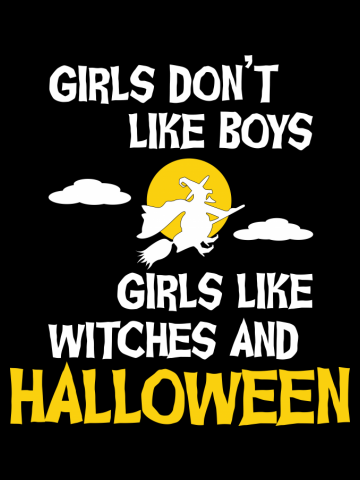 Girls like Halloween