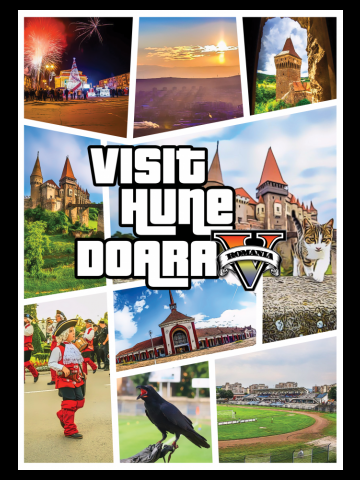Grand Visit Hunedoara (culori inchise)