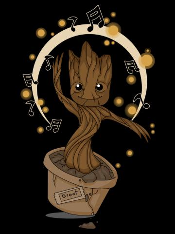 Groovy Baby Groot 2