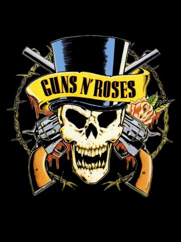 Hat Skull - Guns n' Roses