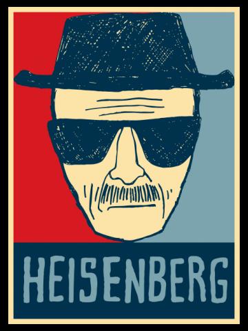 Heisenberg - Color Poster