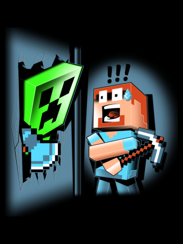 Here's the Creeper!