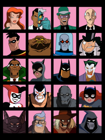 Heroes & Villains  Batman: the Animated Series