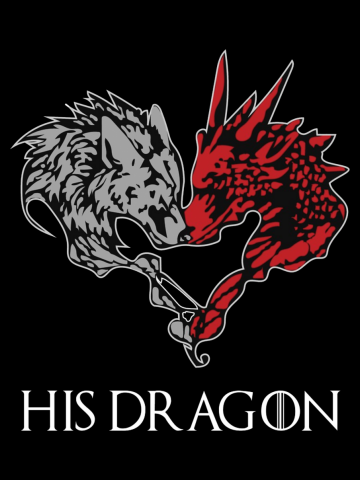 His Dragon & Her Wolf (her)