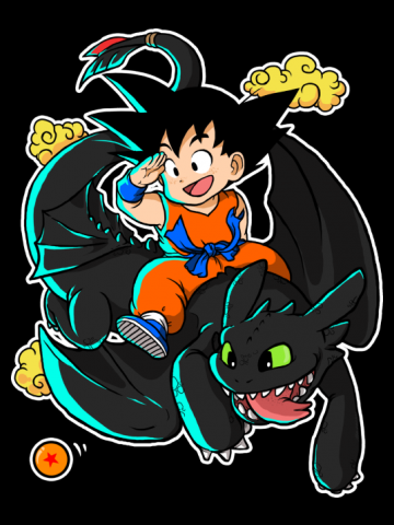 How to train your dragon ball Z