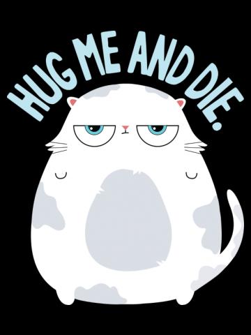 Hug me Cat