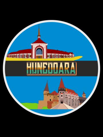 Hunedoara Castle and Rail Station