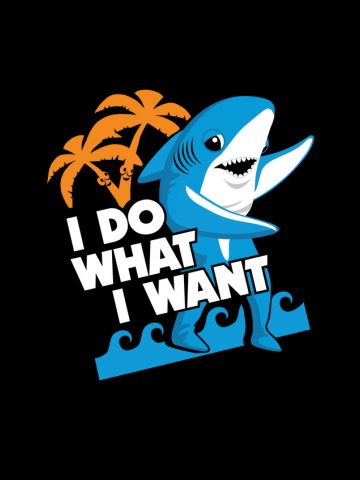 I Do What Want - Left Shark